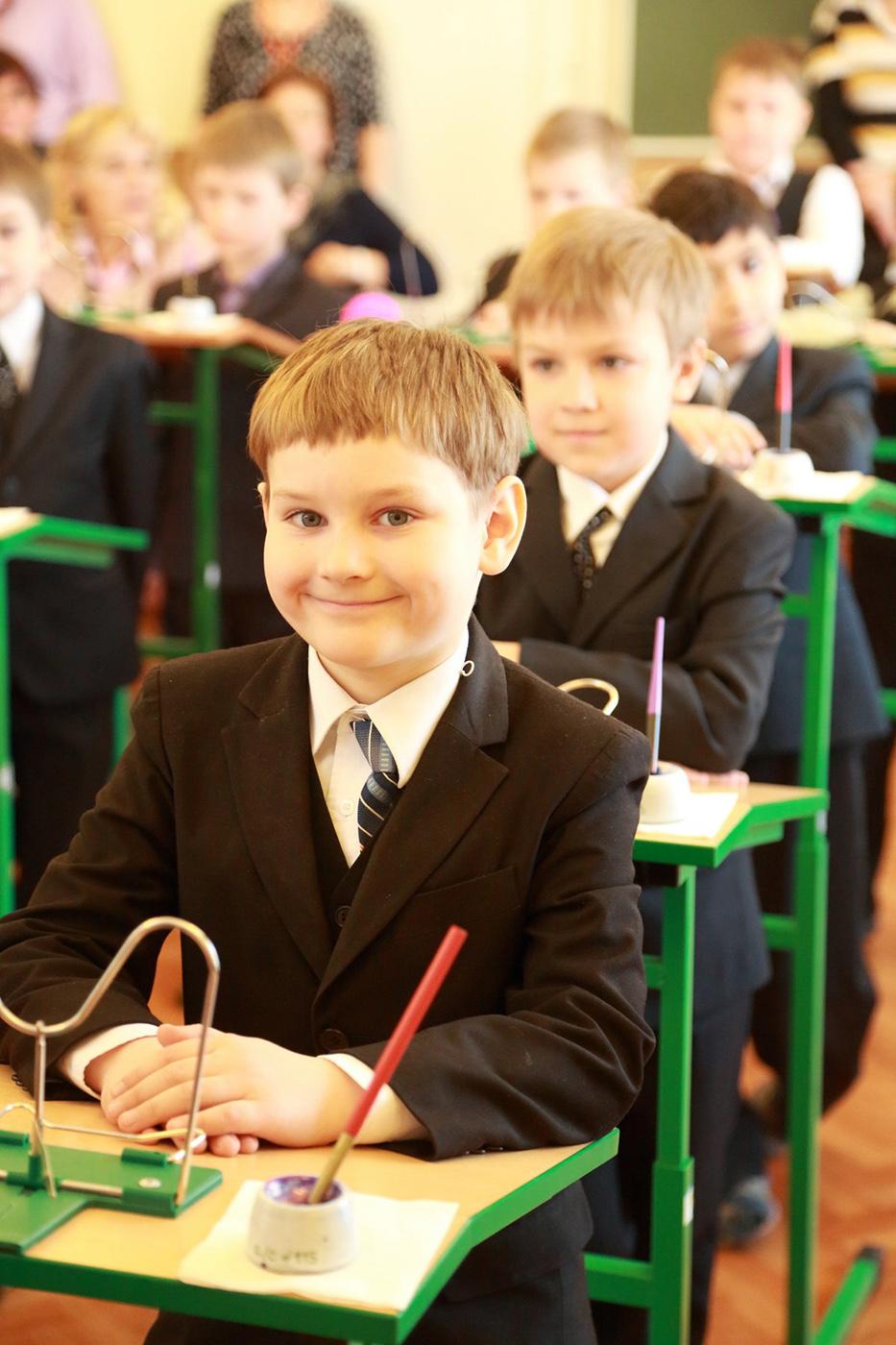 Фото дети в классе за партами